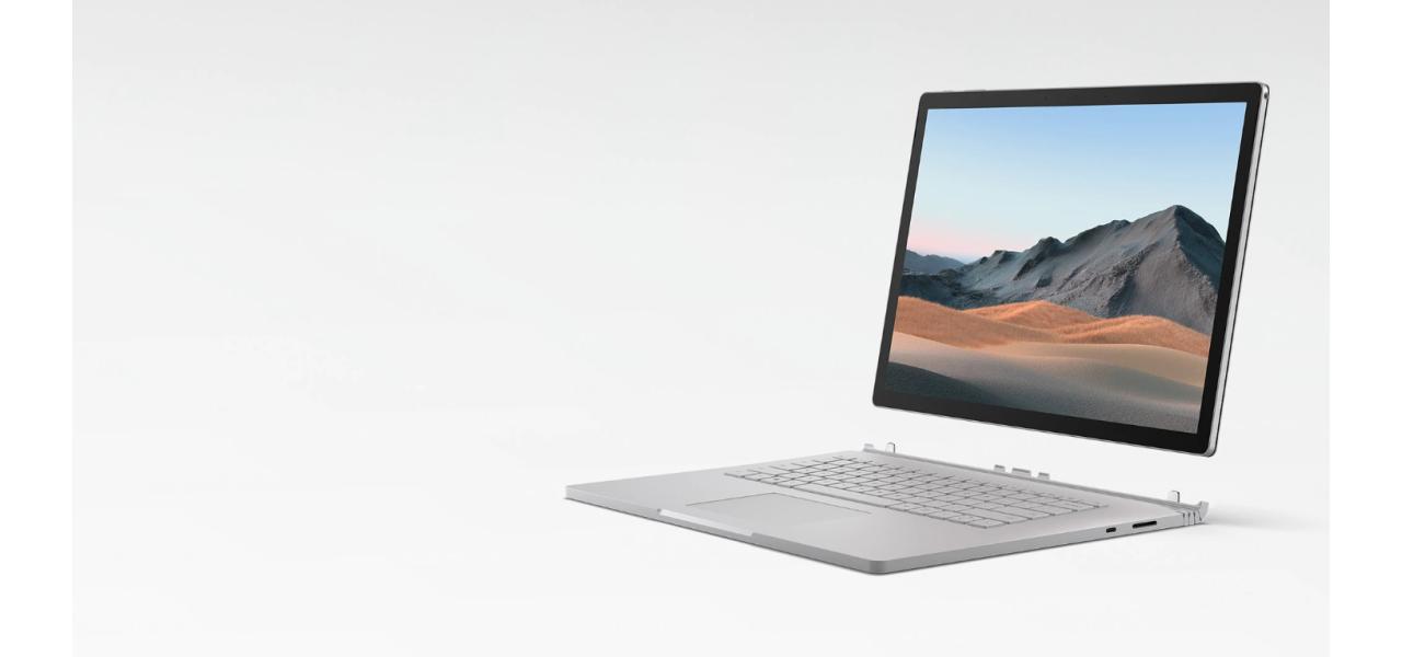 Microsoft Surface Book 3 (13,5 дюймов) краткий обзор