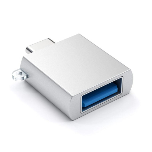 Адаптер Satechi Aluminum Type-C to USB 3.0 Adapter, Silver