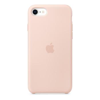 Силиконовый чехол для iPhone SE, Розовый песок