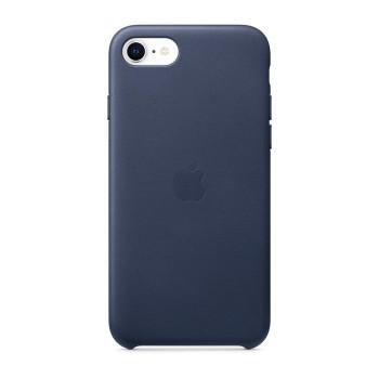 Кожаный чехол для iPhone SE, Тёмно-синий