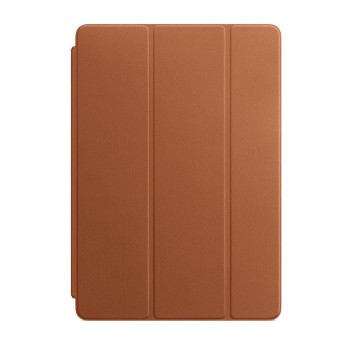Кожаная обложка Smart Cover для iPad 2019 / iPad Air 2019, Золотисто-коричневый
