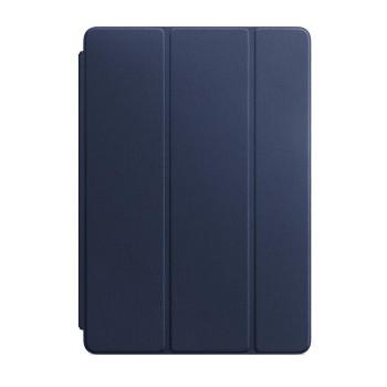 Кожаная обложка Smart Cover для iPad 2019 / iPad Air 2019, Тёмно-синий