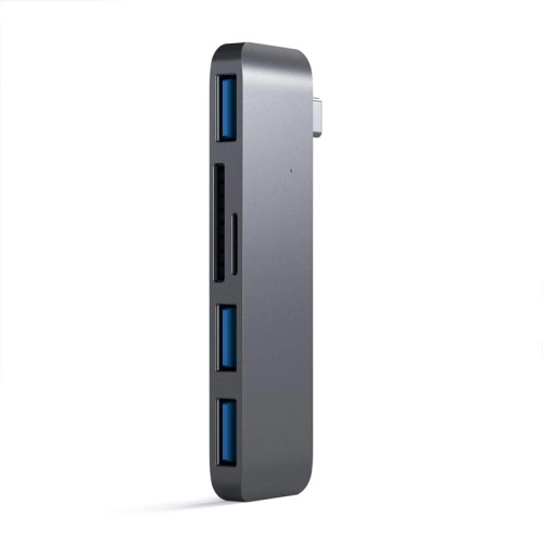 Хаб Satechi Type-C USB 3.0 3-in-1 Combo Hub, Space Gray