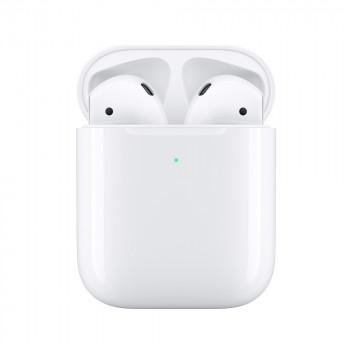Наушники Apple AirPods 2 с беспроводным зарядным футляром