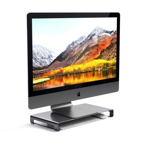Satechi Aluminum Monitor Stand, Space Gray