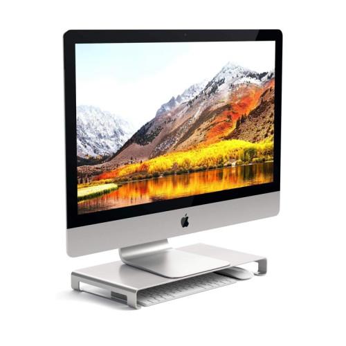 Satechi Aluminum Monitor Stand, Silver