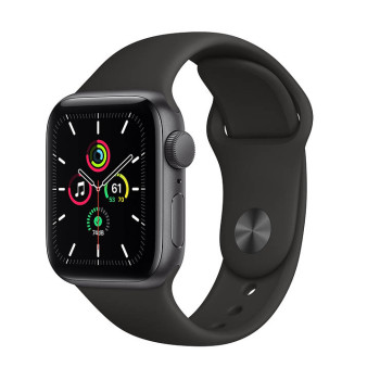 Часы Apple Watch SE 40mm Space Gray Aluminum Case with Black Sport Band