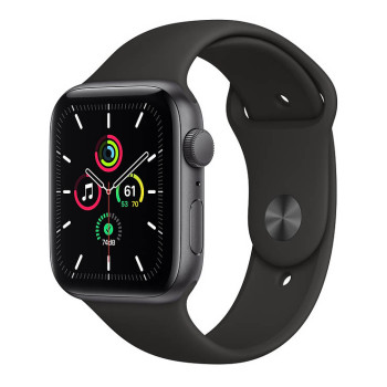 Часы Apple Watch SE 44mm Space Gray Aluminum Case with Black Sport Band