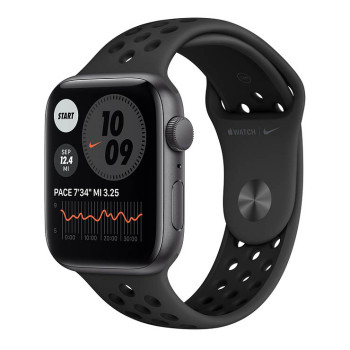 Часы Apple Watch SE Nike 44mm Space Gray Aluminum Case with Anthracite/Black Sport Band