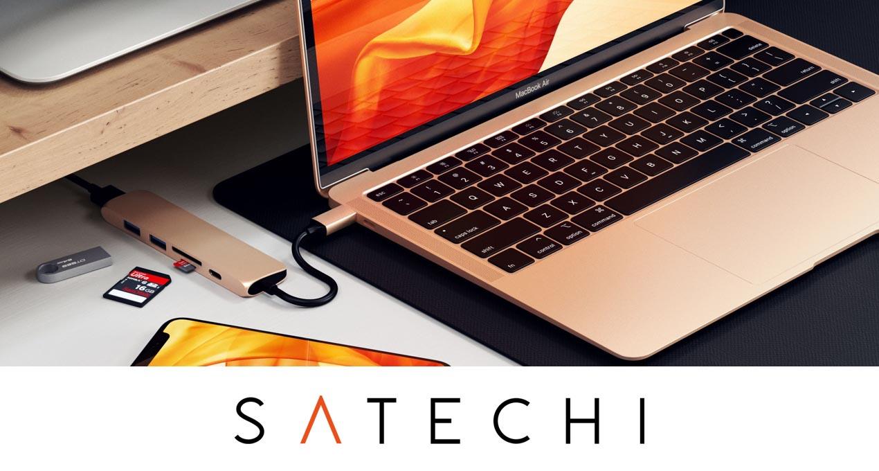 Satechi Slim Aluminum Type-C Multi-Port 2