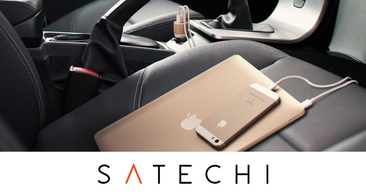 Автомобильное зарядное устройство Satechi USB-C Car Charger