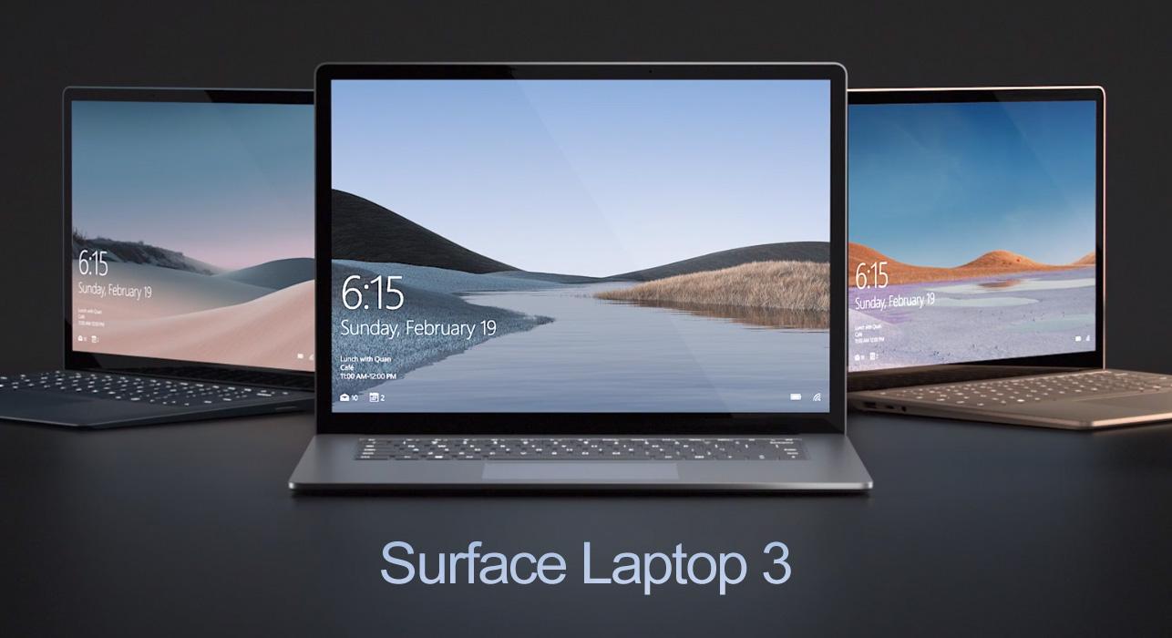 Microsoft Surface Laptop 3 15 1